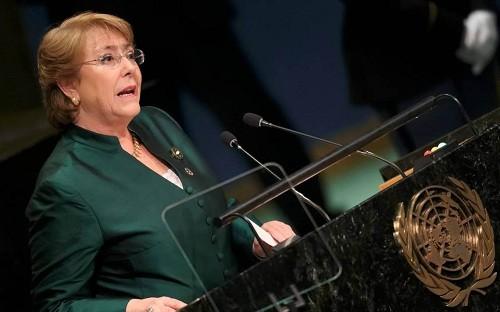 Michelle Bachelet dijo que la violencia en México recuerda la dictadura de Chile