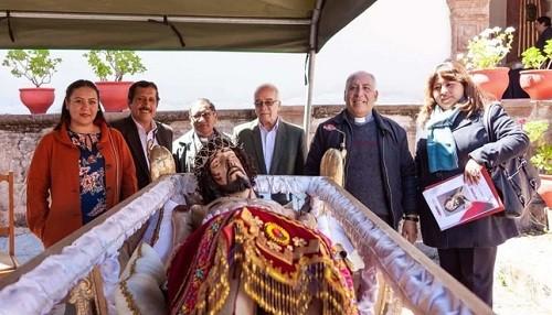 Cusco: Entregan imagen restaurada del Señor del Santo Sepulcro del Templo de San Pedro