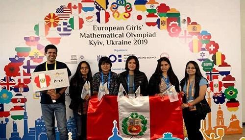 Estudiantes peruanas ganan una medalla de oro y dos de plata en Olimpiada Europea de Matemática