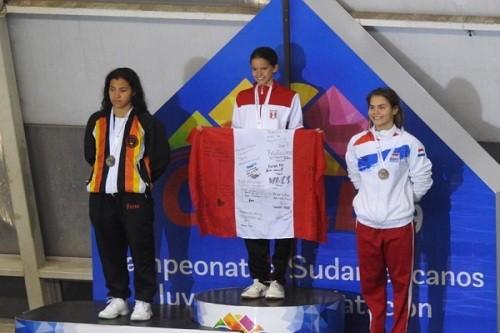 Alexia Sotomayor suma otra medalla de oro en Chile