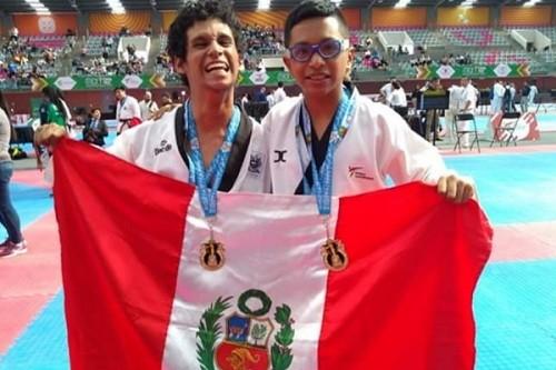 Selección Peruana de Parataekwondo gana medallas de oro en México