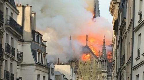 La catedral de Notre Dame en París está en llamas [VIDEO]