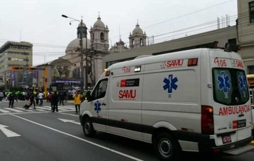 Minsa: ambulancias del SAMU estarán en alerta durante semana santa 2019