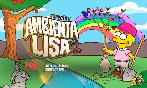 No te pierdas el especial 'Ambienta Lisa' este lunes 22 de abril por Fox Channel