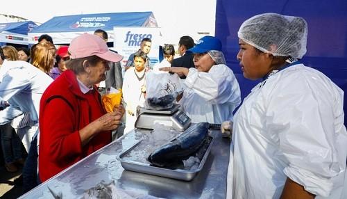 Principales mercados mayoristas de Lima y Callao recibirán 4,000 TM de pescado en Semana Santa