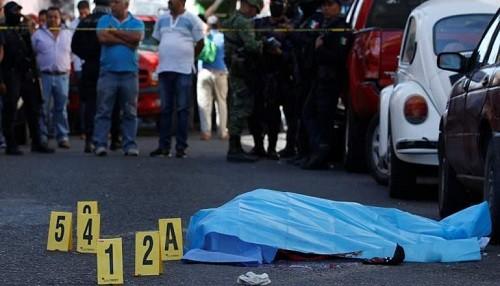 Número récord de personas asesinadas en México este año
