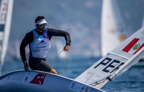Peschiera entre los 10 mejores en Campeonato Mundial De Vela