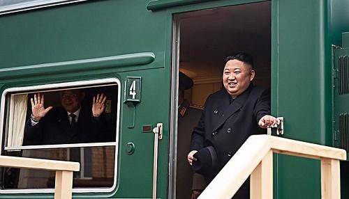 Kim Jong-un llega a Rusia para la cumbre con Putin