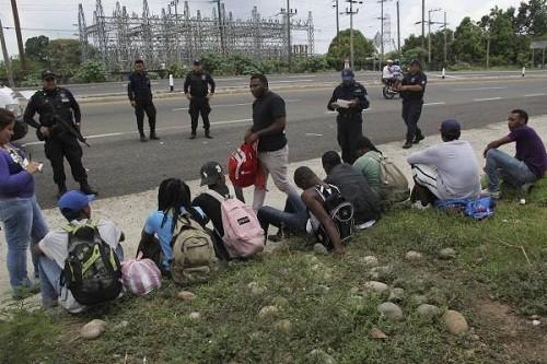 367 personas detenidas en la mayor redada de caravanas de migrantes en México