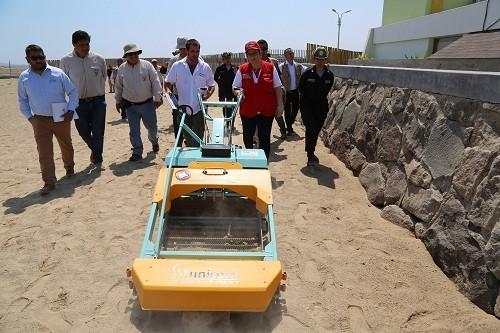 Sector Ambiente presenta equipos de última generación para reducir contaminación en el litoral peruano