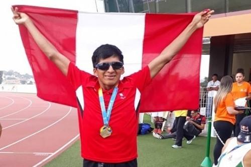 Para Atleta Luis Sandoval gana el oro en Sao Paulo