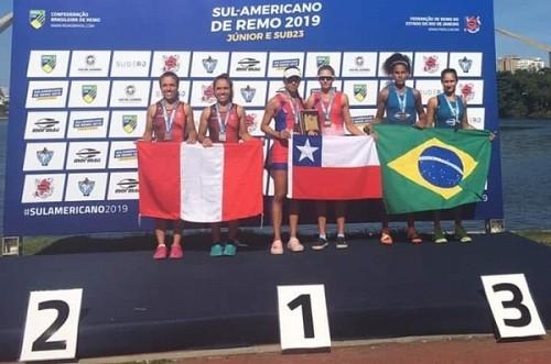 Remo destacó en Suramericano Juvenil y Sub 23 en Río, Brasil