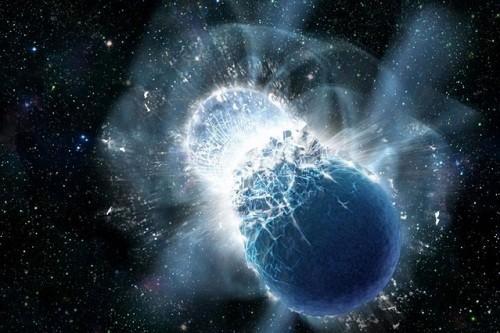 Los científicos acaban de observar un choque entre dos estrellas de neutrones