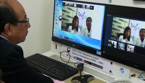 Más de 16 mil peruanos se han beneficiado a través de la Red Nacional de Telesalud del Minsa