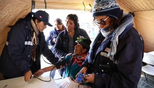 Minsa está preparado para atender a la población frente a la temporada de bajas temperaturas