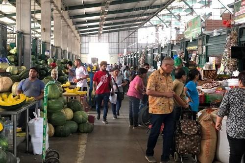 Abastecimiento en el Gran Mercado Mayorista De Lima es normal