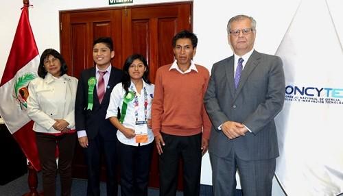 Escolares peruanos fueron premiados en Feria Internacional de Ciencia e Ingeniería