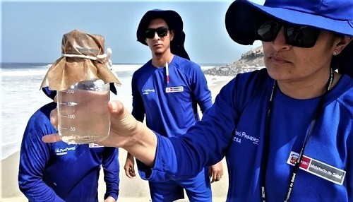 Digesa inspecciona calidad de agua de playas por los XVIII Juegos Panamericanos