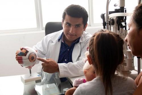 Municipalidad de Lima realiza campaña infantil 'Yo cuido mis ojos'