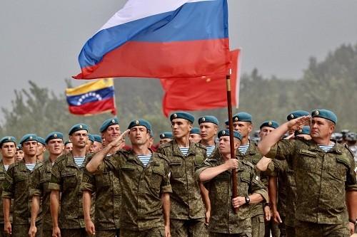 El ejército ruso ayuda a Venezuela en medio de las 'amenazas' de EE.UU.