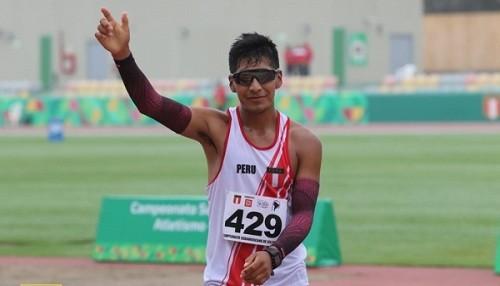 Luis Henry Campos gana el bronce en los 20.000 metros de marcha