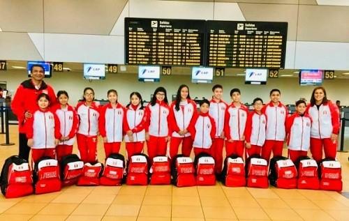 Selección de Tenis de Mesa consigue 11 medallas en Sudamericano Sub13