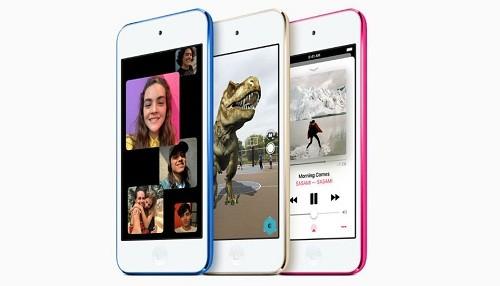 Apple mantiene vivo el iPod con un nuevo modelo