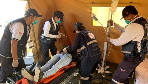 Minsa: 1 300 brigadistas y médicos están preparados para viajar a zonas de emergencia ante un sismo de gran magnitud