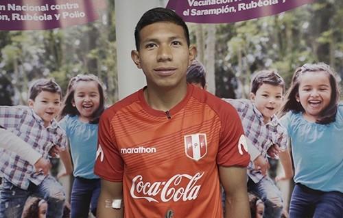 Nuestra selección de fútbol apoya la Vacunación Nacional contra el Sarampión, Rubeola y Polio