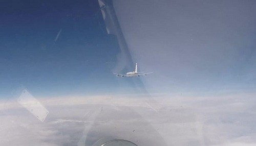 Rusia intercepta aviones espía estadounidenses y suecos sobre el mar Báltico