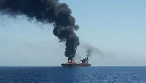 Dos petroleros fueron objeto de presuntos ataques en el Golfo de Omán