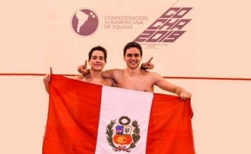 León y Gálvez finalistas en el Campeonato Panamericano de Squash