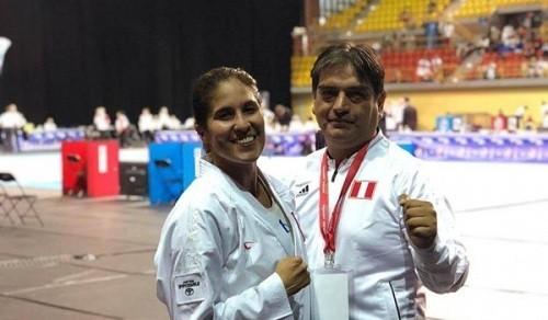 Alexandra Grande medalla de oro en la serie A de Karate en Montreal