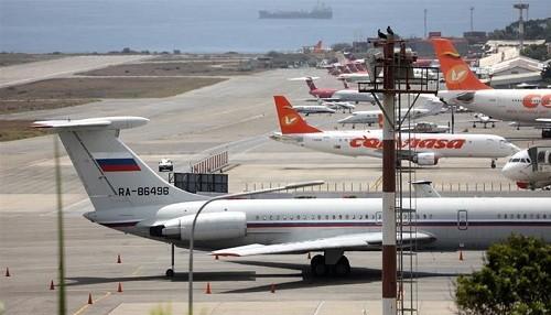 Un avión de la fuerza aérea rusa aterrizó en el aeropuerto de Venezuela