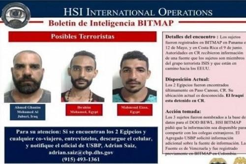 Nicaragua arrestó a cuatro hombres sospechosos de tener vínculos con ISIS