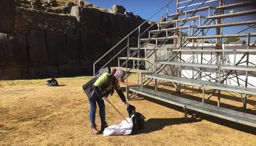 Residuos sólidos durante la fiesta del Inti Raymi en Sacsayhuamán se redujeron en 50%