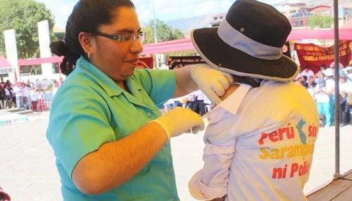 Solo el 58% de los niños de Lima están vacunados contra el sarampión, rubeola y polio