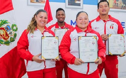 MIGRACIONES nacionalizó a deportistas que representarán al Perú en los Juegos Panamericanos