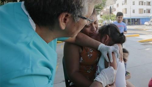 Minsa seguirá con la Vacunación Nacional contra el Sarampión, Rubeola y Polio hasta el 15 de julio