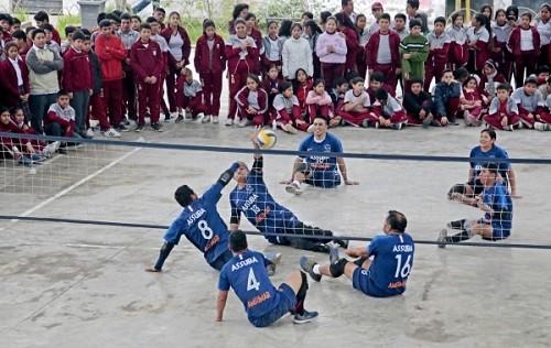 """Selección peruana de Voley Sentado: """"Para nosotros no hay límites"""""""