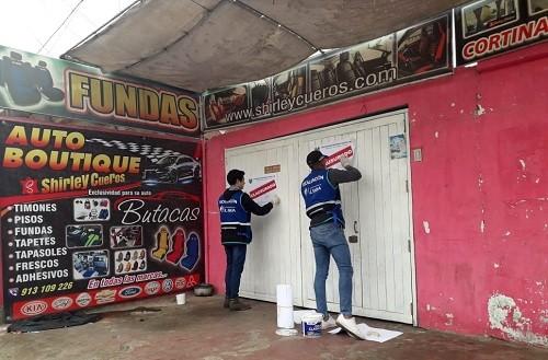 Municipalidad de Lima recupera espacios públicos tomados por talleres y mecánicas informales