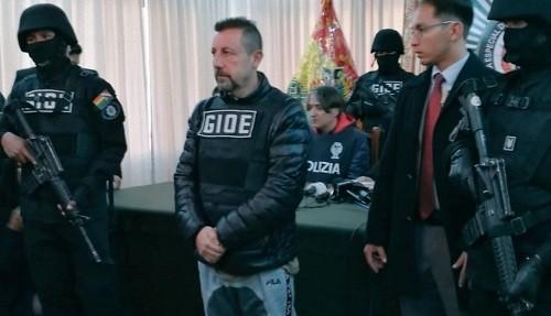 Un capo vinculado a la mafia siciliana fue capturado en Bolivia