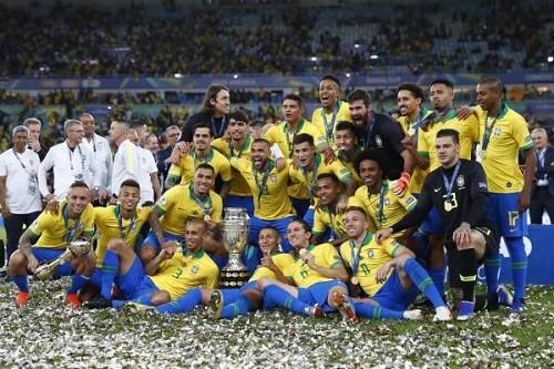 Copa América 2019: Brasil venció a Perú 3-1 para levantar el título