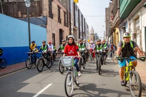 Participa en la bicicleteada 'Pedalea Perú' por Fiestas Patrias