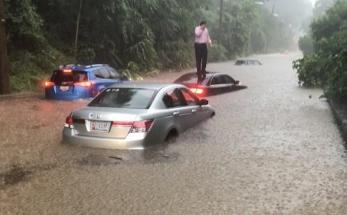Washington: tormenta inunda la ciudad, luego de que el área recibió casi un mes de lluvia en una hora [VIDEO]