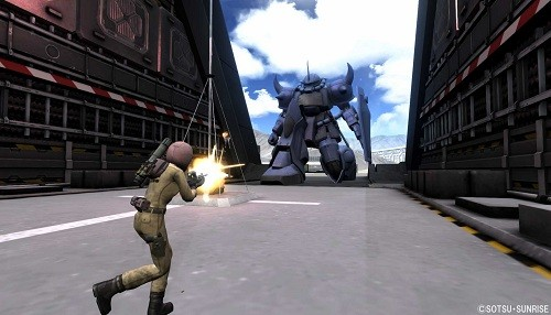 Mobile Suit Gundam Battle Operation 2 se prepara para aterrizar en América