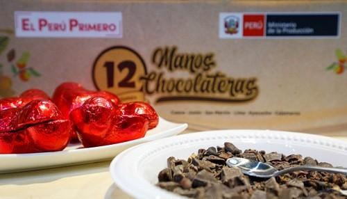 PRODUCE: 12 MYPE lograron negociar más de S/ 255 000 en el X Salón del Cacao y Chocolate 2019