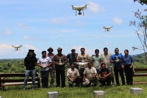 Implementan uso de drones para fortalecer monitoreo de Reserva Nacional Tambopata y Reserva Comunal Amarakaeri