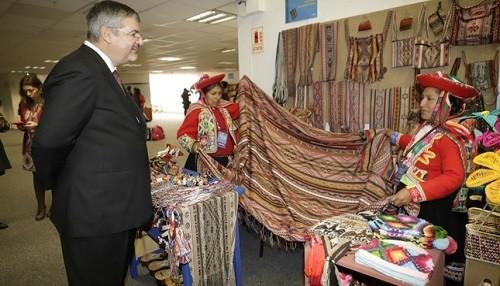 Se inauguró Ruraq maki la feria de arte tradicional más importante del país