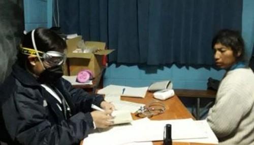Pobladores de Ubinas y Matalaque afectados por volcán Ubinas reciben atención médica domiciliaria
